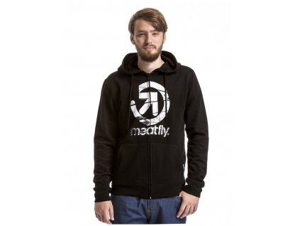 MEATFLY KNOCKOUT HOODIE A BLACK