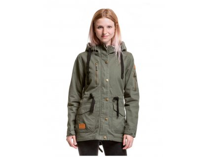 MEATFLY LANA COTTON JACKET B OLIVE