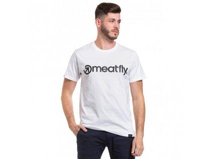 Meatfly Logo 20 B White