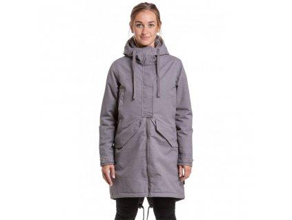 Zimní bunda Nugget Maggie Parka D Industrial Heather