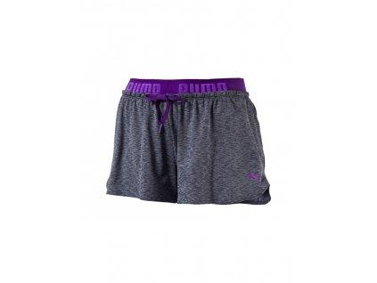 Puma Transition Drapey Shorts Royal Purple