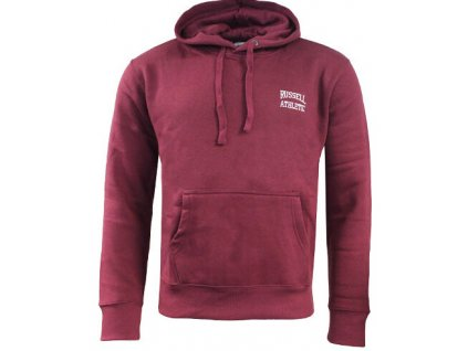 mikina russell athletic burgundy