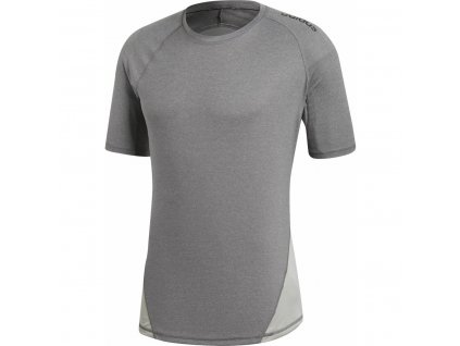 Pánské funkční tričko adidas Alphaskin Sport Tee Grey