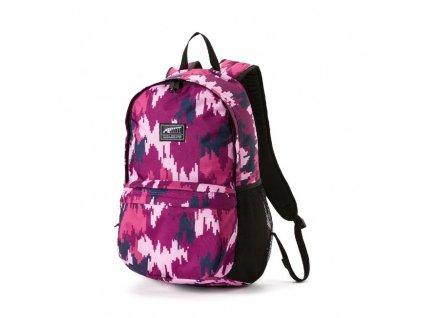 Puma Acadeym backpack Orchid Camo AOP