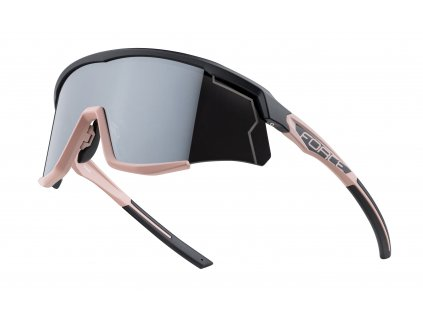 brýle FORCE SONIC černo bronzové,stříbr. zrc. skla