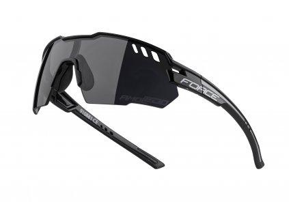 brýle FORCE AMOLEDO, černo šedé, černé skla