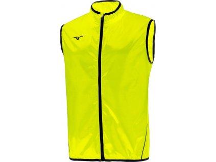Vesta Mizuno Authentic Rain Vest yellow