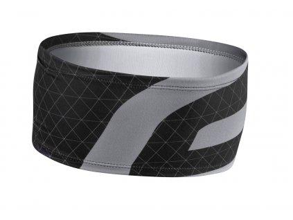 čelenka FORCE FIT sport zúžená, černo šedá