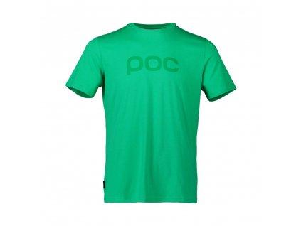 tričko POC tee emerald green