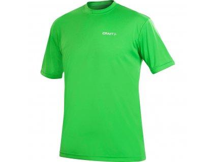 pánské tričko craft prime tee green