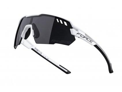 brýle FORCE AMOLEDO, bílo šedé, černé skla
