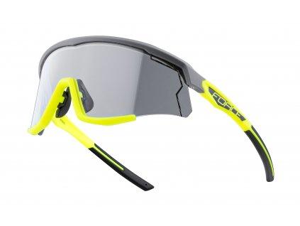 brýle FORCE SONIC šedo fluo, fotochromatická skla