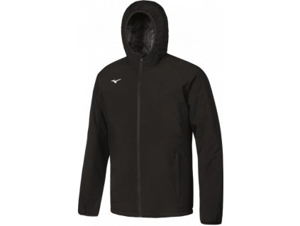 Pánská bunda Mizuno Padded Jacket Black white 32EE750009