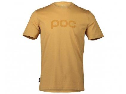 pánské tričko POC TEE ARAGONITE BROWN