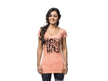 Horsefeathers Wild Thing washed peach (Velikost XL)
