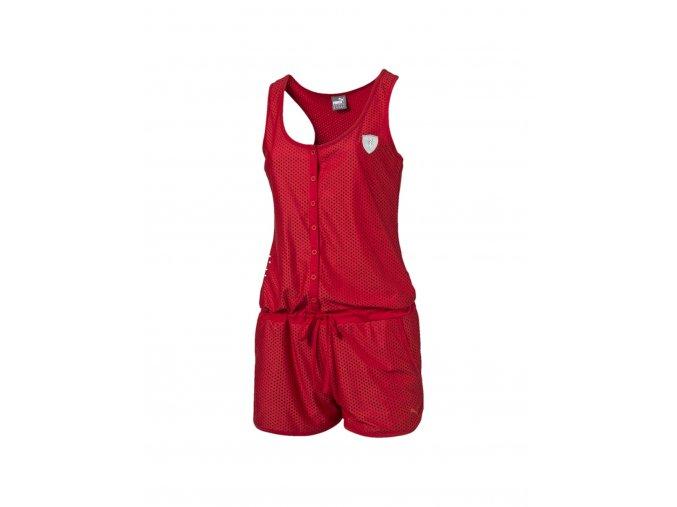 Puma Ferrari Jump Suit Rosso Corsa