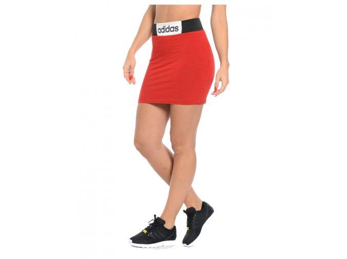 Adidas Boxing SKirt Red/Black/White
