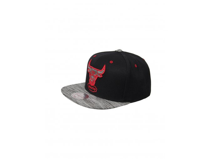 Mitchell & Ness Cratched Black