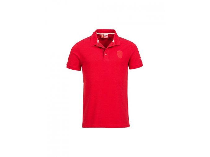 Puma Ferrari Mens Shield Logo Red