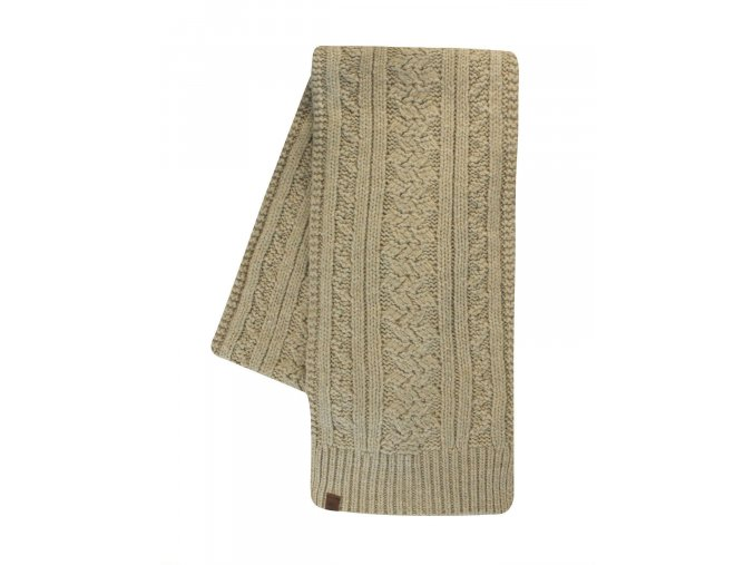 Timberland Chunky Wool Cable Knit Beige