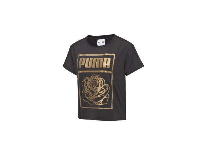 Puma x Careaux Logo Tee Puma Black