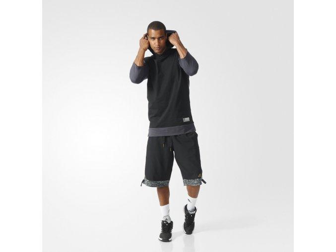 Adidas Basketball 3/4 League Hoodie
