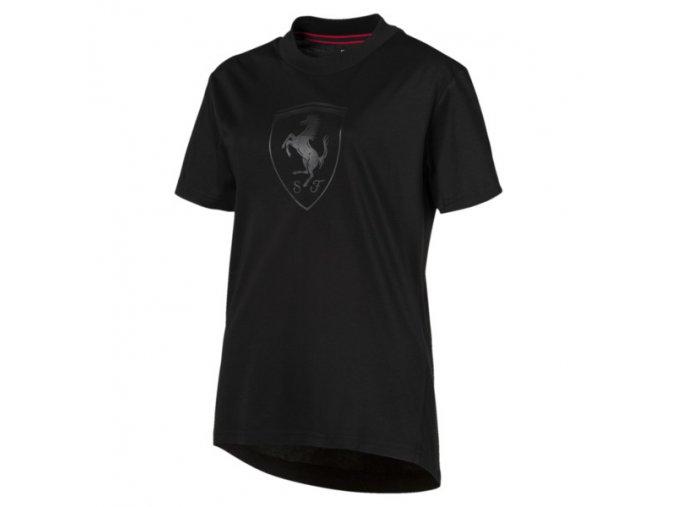 Puma Ferrari Big Shield Tee Black