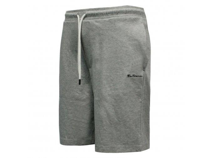 Ben Sherman Training Shorts Small Logo Light Grey