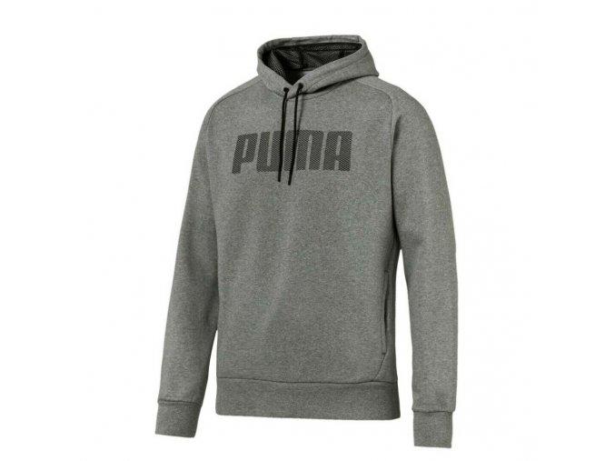 Puma P48 Modern Sports Hoody FL Medium Gray Heather