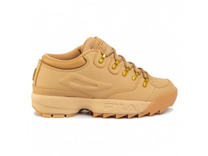 Fila Disruptor Hiker Low Tan Gold