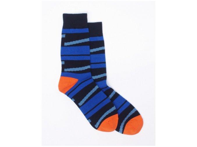 Meatfly Stripes A-Blue/Orange