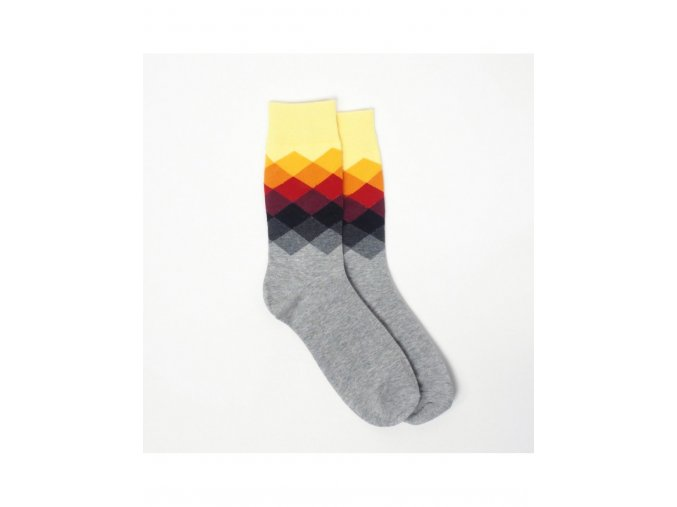 Meatfly Pixel A-grey/yellow/red