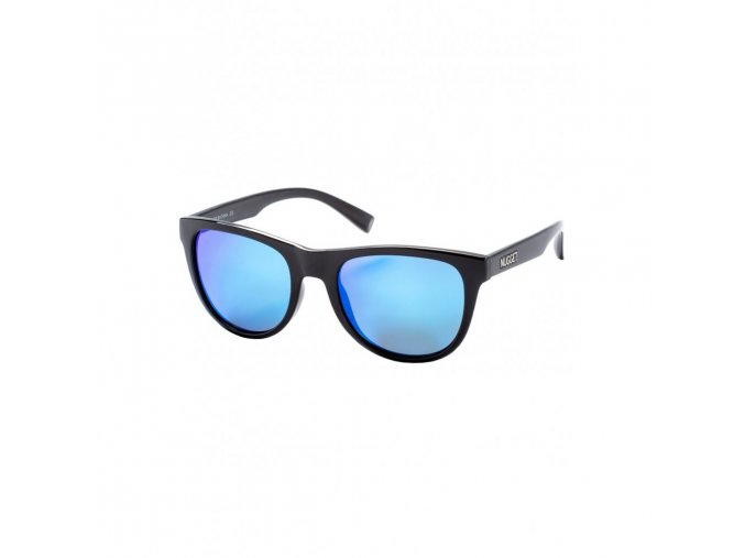 Nugget Whip 2 Sunglasses - S19 D - Black Glossy, Blue