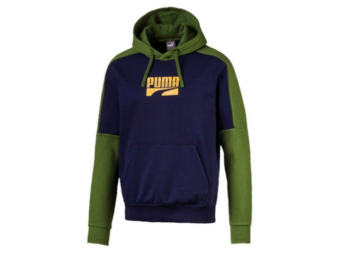 Puma Rebel Block Peacoat-Green