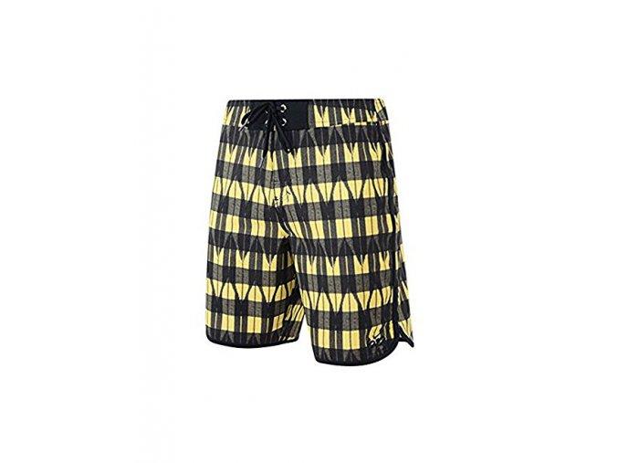 Nike 6.0 boardshorts black-yellow