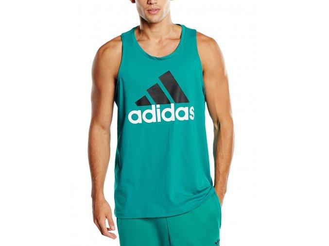 Adidas Logo Essentials climalite green