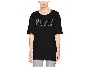 Puma Fusion Elongated Tee Black
