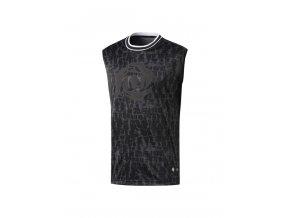 Adidas Rose S/L Tee Black Noir