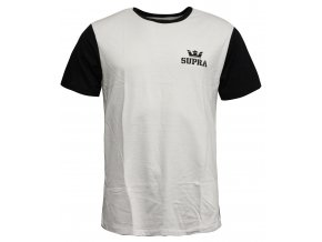 Supra Crown Premium Tee White Black