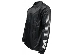 Supra Stripped Coaches Jacket Charcoal