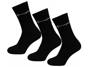 Champion Socks 3 Pack Black