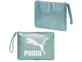 Puma Prime Pouch Metallic Aquaifer Metallic