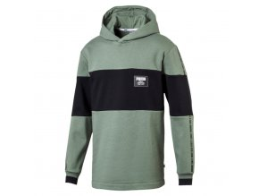 Puma Rebel Block Hoody FL Laurel Wreath