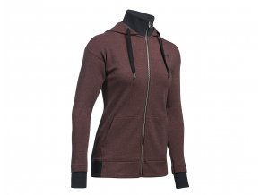 Under Armour Threadborne Fleece Burgundy