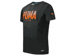 Puma PWRCOOL Graphic Tee Asphalt