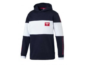 Puma Rebel Block Hoody FL Peacoat1