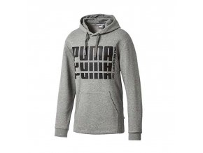 Puma Rebel Bold Hoody FL Medium Gray Heather