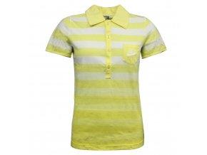 Nike Active Polo White-Yellow