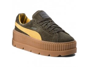 Puma Rihanna X Fenty Cleated Green-Yellow