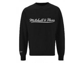Mitchell & Ness Script Crew Logo Black